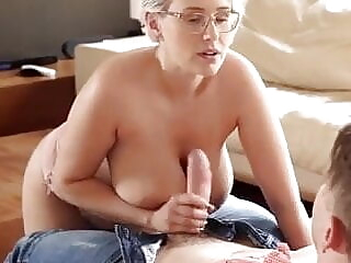 Super Hot Mom And Stepson blowjob cumshot doggy style freeones