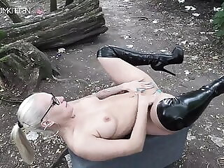 German Lara Is Sexy In Public hardcore milf latex freeones