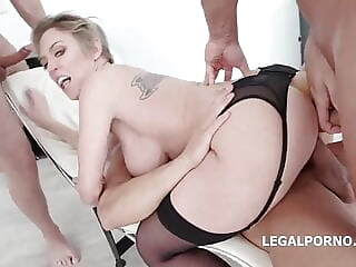 Dee is getting DP during an orgy anal group sex milf freeones