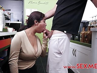 ANALIA'S HOT COFFEE CASTING IN THE COFFEE SHOP blowjob big boobs hd videos freeones