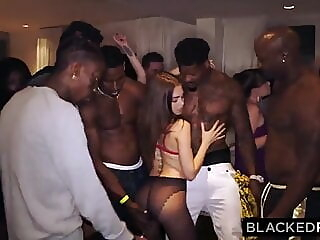 BLACKEDRAW My girlfriend got gangbanged blowjob hardcore pornstar freeones