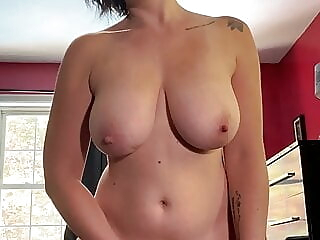 Sexy wife plays with her pussy till she cums, POV amateur brunette pov freeones
