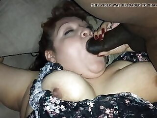 Slut wife takes on two BBCs and they cream her pussy, part 1 bbw mature big boobs freeones