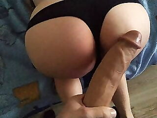 She's scared by a big monster cock amateur sex toy pov freeones