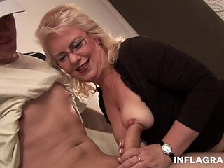 Inflagranti Mommy Is A Wild One big tits blonde cumshot freeones
