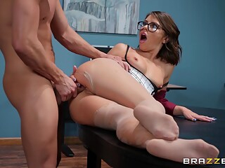 the lusting librarian anal brunette deepthroat freeones