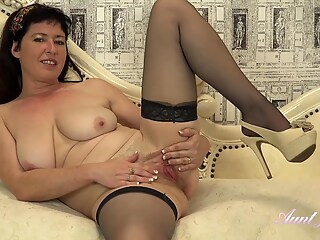 AuntJudys - Auntie Janey Wants To Watch You Jerk Off big tits brunette hd freeones