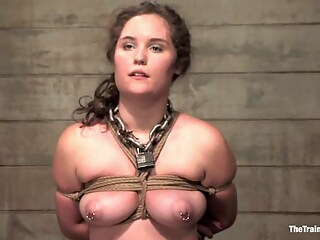 Charlotte Vale in Second day for Charlotte bdsm big tits brunette freeones
