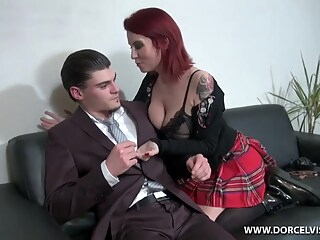 Lascenseur Est En Panne with Marie Clarence big tits hd milf freeones