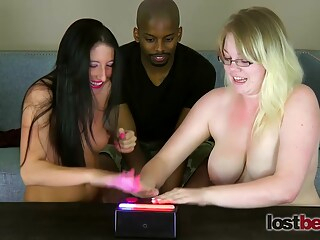 Lost Bets Games - 491 Frenzy With Gianna And Cierra Ft big tits blonde brunette freeones