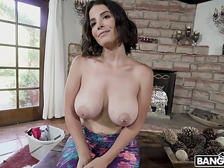 super hot busty maid gets picked up with Maria Antonella Alonso big tits pov hd freeones