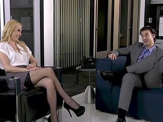 HandsOnHardcore - Aaliyah Love Fucked In The Office Br hd blonde stockings freeones