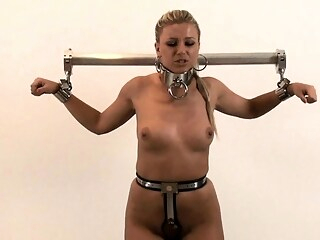 Bdsm fetish babe ass toyed bdsm babe blonde freeones