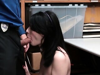 Girl almost caught by dad Suspect was caught crimfriend's so blowjob brunette hardcore freeones
