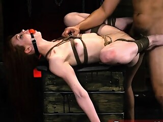 Fucks guy rough and girl slave xxx When he's finished cruell bdsm blowjob fetish freeones