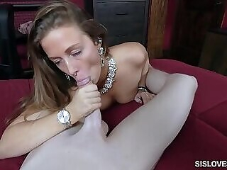 Which one should i fuck? stepsis or her best friend? facial big boobs stepsister freeones