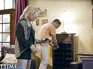 ADULT TIME, Mature Payton Hall & The Stud Next Door blonde blowjob hardcore freeones