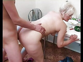 Russian mom Lena alternates between young cunt hunters blonde blowjob cumshot freeones
