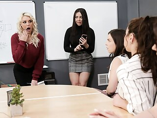 Kenzie Taylor & Whitney Wright in Remote-Control Public Arousal anal big tits cunnilingus freeones