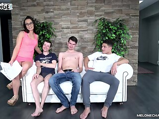 Wendy Moon - Tripple Fail brunette casting group sex freeones