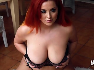 Lucy v Teasing in Animal Print Dress and Lingerie bbw big tits hd freeones