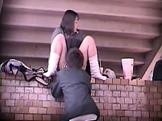 Gal in school uniform outdoor sex asian college japanese freeones